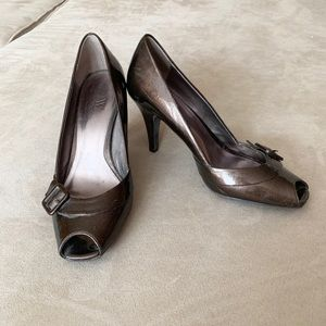 Worthington open toed heels